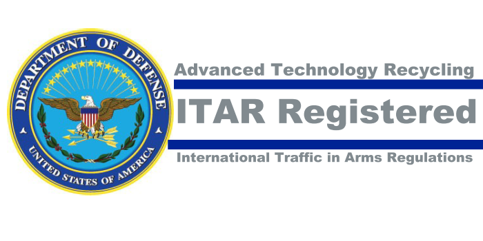 Itar Recycling Rare Earth Metal Recovery Gsa R2 Iso Cert