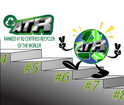 ATR Ranked #7 R2 Certified Recycler in the World