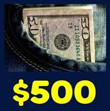 ATR 500 Cash Giveaway