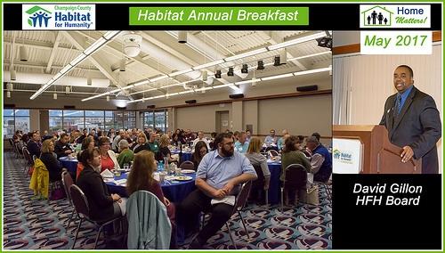 2017 Habitat Annual Breakfast