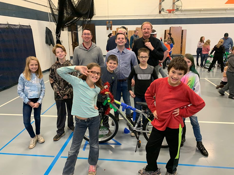 Fourth Graders make great team builders, ThinkATR