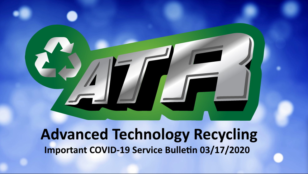 ATR COVID 19 Service Bulletin Image showing logo and release date