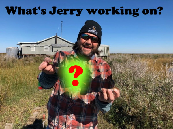 Whats Jerry Allen Working on while at home?