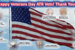 ATR thanks our Vets for their service, they're shown here in this picture and the jobs they do.