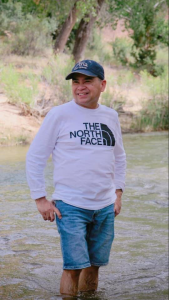 ATR March Employee Spotlight recipient is Romeo De La Cruz from Las Vegas, this picture shows Rommy going for a nature hike